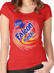 Falcon Punch! Women's Fitted Scoop T-Shirt