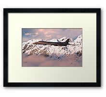 Rockwell B-1 (Lancer) Bomber Framed Print