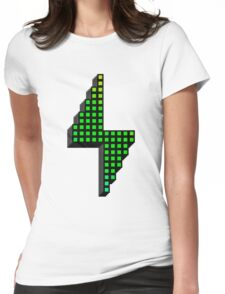 Pixel Powerhouse Womens Fitted T-Shirt