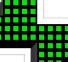 Pixel Powerhouse Sticker