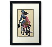 From up on poppy hill Framed Print