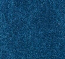 Blue stained cardboard texture abstract Sticker