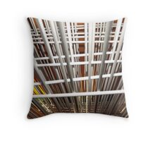A Wired Perspective Throw Pillow