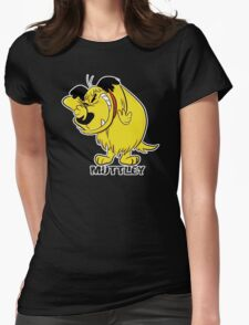 MUTTLEY FUNNY T SHIRTS T-SHIRTS WACKY RACES CARTOON ANT HILL MOB Hanna Barbera Womens Fitted T-Shirt