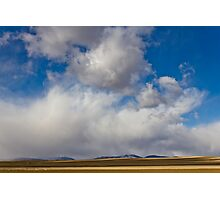 Storm Skies Over The Plains Photographic Print