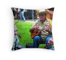 """Jammin' to the Oldies"" Throw Pillow"