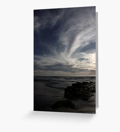 Blue skies 9337 Greeting Card