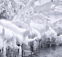 Curtain of Ice Sticker