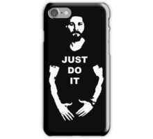 NEW Shia Labeouf Just Do It! Motivating T-Shirt Funny Parody Size S M L XL 2XL iPhone Case/Skin