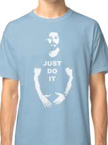 NEW Shia Labeouf Just Do It! Motivating T-Shirt Funny Parody Size S M L XL 2XL Classic T-Shirt