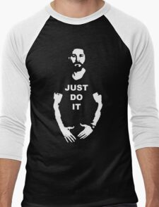 NEW Shia Labeouf Just Do It! Motivating T-Shirt Funny Parody Size S M L XL 2XL Men's Baseball ¾ T-Shirt