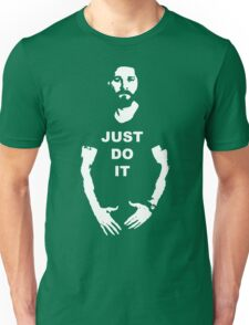 NEW Shia Labeouf Just Do It! Motivating T-Shirt Funny Parody Size S M L XL 2XL Unisex T-Shirt