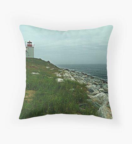 Port Bickerton Lighthouse Throw Pillow