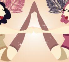 Best Burlesque Babes Forever Sticker
