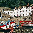 The Red Lion, Clovelly, North Devon, England........! by Roy  Massicks
