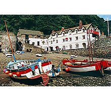 The Red Lion, Clovelly, North Devon, England........! Photographic Print