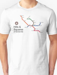 Hills & Squares of Somerville T-Shirt