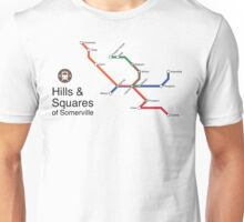 Hills & Squares of Somerville Unisex T-Shirt