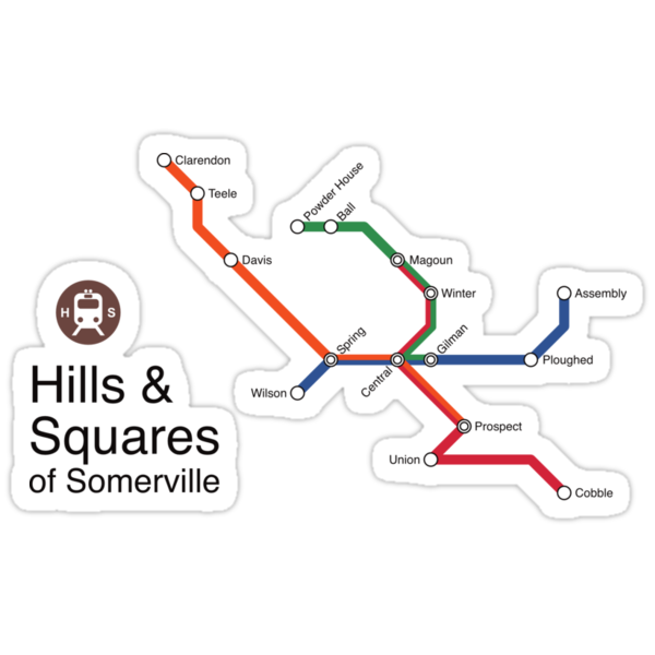 Hills & Squares of Somerville by Rajiv Raman