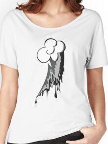 Monochrome Dash Women's Relaxed Fit T-Shirt