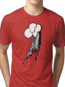 Monochrome Dash Tri-blend T-Shirt