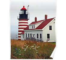 West Quoddy Light Poster