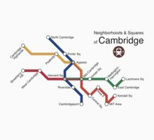 Neighborhoods & Squares of Cambridge by Rajiv Raman