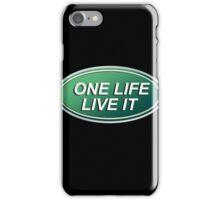 One Life Live It Land Rover Defender Dakar iPhone Case/Skin