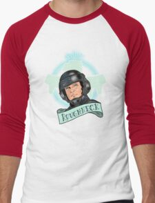 Aye Que JOHNNY RICO! Men's Baseball ¾ T-Shirt