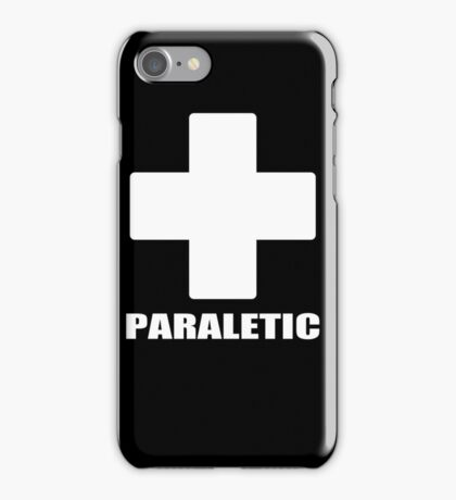 Paraletic Drunk Party Paramedic Spoof Funny Stag iPhone Case/Skin