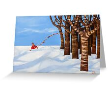 Out Of The Woods Greeting Card