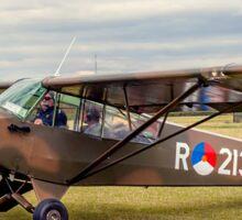 Piper L-21A Super Cub R-213 PH-RED Sticker