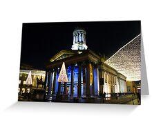 Christmas Lights, Gallery of Modern Art, Glasgow Greeting Card