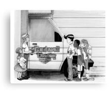 Rockwell Moving Canvas Print