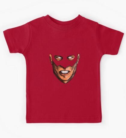 A Hero's Mask Kids Tee