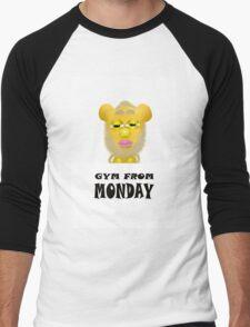 Gym From Monday Men's Baseball ¾ T-Shirt