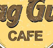 Skag Gully Cafe (distressed) Sticker