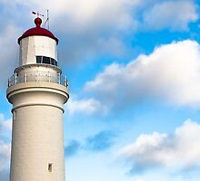 Cape Nelson Lighthouse Portland Victoria by Frank Moroni