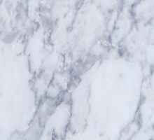White And Gray Marble Stone Pattern Sticker