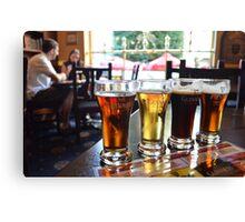 Beer Sampling Canvas Print