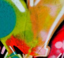 graffiti colour splash  Sticker