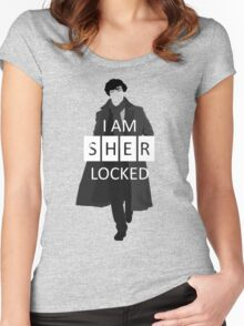 I m Sherlocked Women's Fitted Scoop T-Shirt
