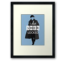 I m Sherlocked Framed Print