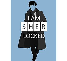 I m Sherlocked Photographic Print
