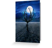 Midnight in the hanging tree Greeting Card