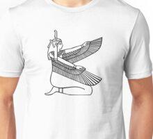 Egyptian Winged female Unisex T-Shirt