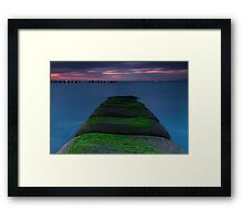 The Green Path Framed Print