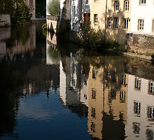 River in the Old city by Rene Fuller