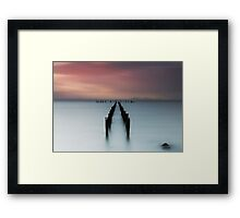Misty Springs Framed Print