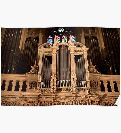 Organ Bling Poster